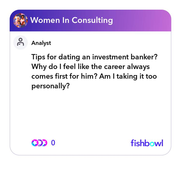 Dating a banker dating features